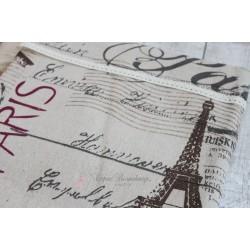 Ткань Эйфилевая башня, лен, 50*75см.