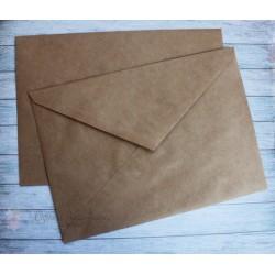 Крафт-конверт, 22.5*16см, 1шт.
