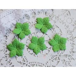 Пуансетия, цвет зеленый, 40мм, 10шт