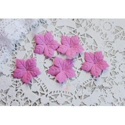 Пуансетия, цвет розовый, 40мм, 10шт