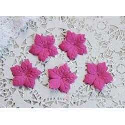 Пуансетия, цвет темно-розовый, 40мм, 10шт