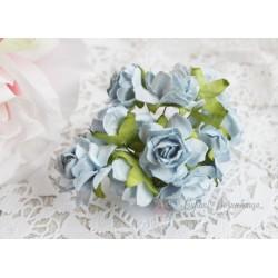Дикая роза, цвет нежно-голубой, 3см, 1шт