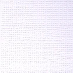 Кардсток текстурированный  Первый снег (белый), 30,5*30,5 см, 216 гр/м, 1л.