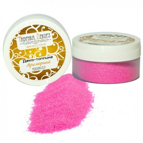 Топпинг мраморный «Розовый фламинго», 80гр
