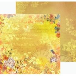 "Двусторонняя бумага ""Цветочная Феерия"", 30.5*30.5см, 180гр/м"