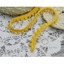 """Тесьма декоративная """"BLITZ"""", цвет насыщенный желтый, 10 мм, 1м"""