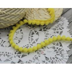 """Тесьма декоративная """"BLITZ"""", цвет желтый, 10 мм, 1м"""