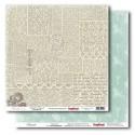 Бумага для скрапбукинга 30,5х30,5 см 180 гр/м двусторон Версаль Маскарад