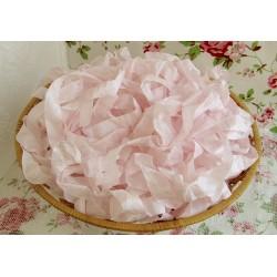 """Шебби-лента, цвет """"Розовый хрусталь"""", 1м"""
