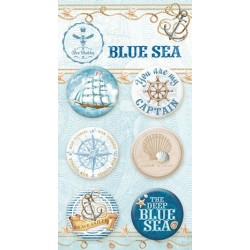 Набор фишек BLUE SEA, 6 шт.