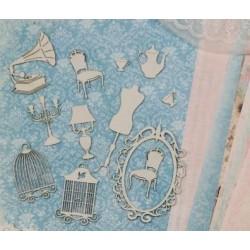 Набор чипборда «Чувственность» (12 элементов)