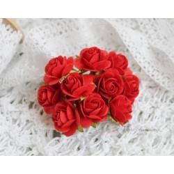 Роза Мальбери, цвет красный, 25мм, 1 цветок