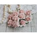 Роза Мальбери, цвет нежно-розовый, 25мм, 1 цветок