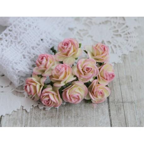 Роза Мальбери, цвет розовое шампанское, 20мм, 1цветок