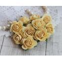 Роза Мальбери, цвет желтый, 25мм, 1 цветок