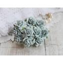Роза Мальбери, цвет голубой,1 цветок