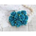 Роза Мальбери, цвет темно-бирюзовый, 1 цветок