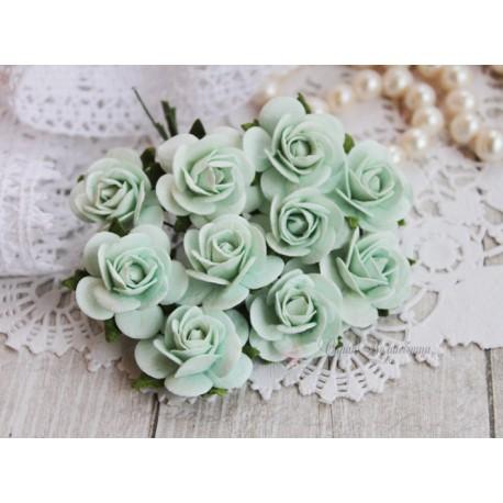 Роза Мальбери, цвет мята, 25 мм, 1 цветок