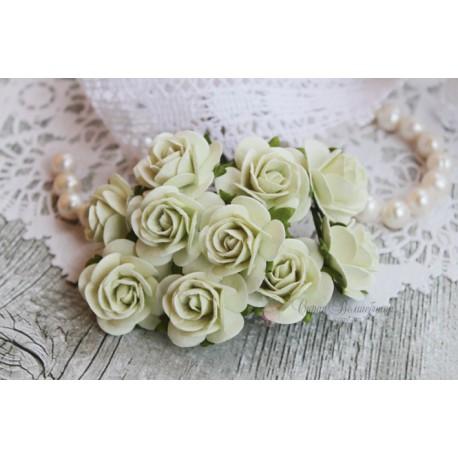 Роза Мальбери, цвет светлая мята, 25 мм, 1 цветок