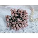 Розы в бутонах, цвет бледно-розовый, 1 бутон.