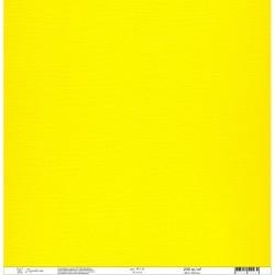"Кардсток текстурированный""Рукоделие"" 235г/м2, 305х305мм, 1 лист, желтый BO-14"