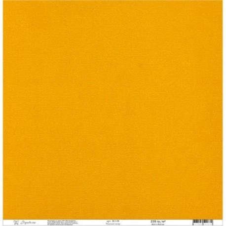 "Кардсток текстурированнный ""Рукоделие"" 235г/м2, 305х305мм, 1 лист, жженый сахар BO-08"