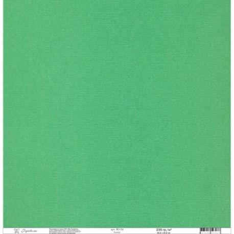 """Набор текстурированной бумаги""""Рукоделие"""" 235г/м2, 305х305мм, 1 лист, клевер BO-24"""