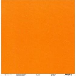 "Кардсток текстурированный ""Рукоделие"" 235г/м2, 305х305мм, 1 лист, морковный BO-09"