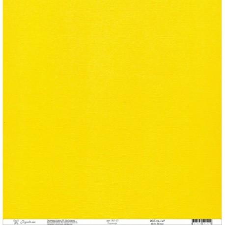 "Кардсток текстурированный ""Рукоделие"" 235г/м2, 305х305мм, 1 лист, подсолнух BO-13"