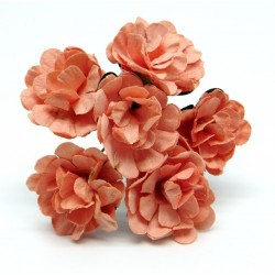 Декоративный букетик персиковый, Рукоделие, DKB148C