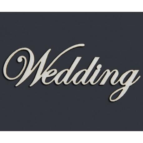 "Чипборд-Надпись ""Wedding"""