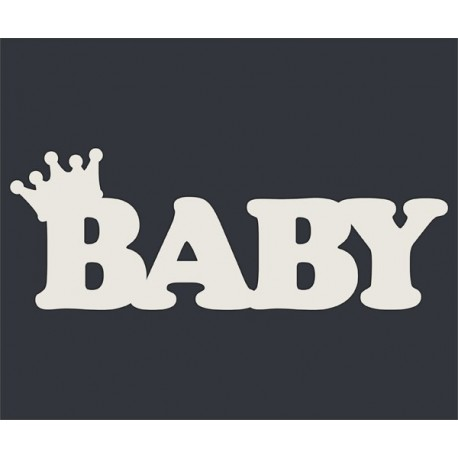 Чипборд BABY с короной