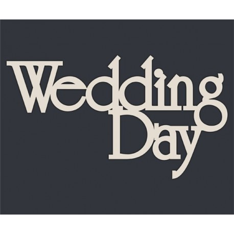 Чипборд Wedding Day №2