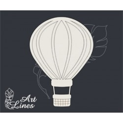 Чипборд Воздушный шар (2 элемента)