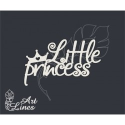 Чипборд Little princess