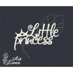 Чипборд Little princess