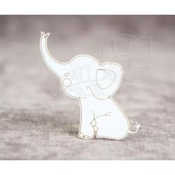 Чипборд Слоненок 2
