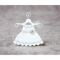 Чипборд Платье 2