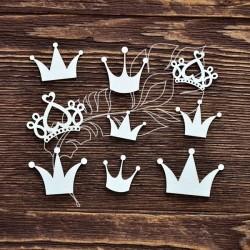 Чипборд Набор короны