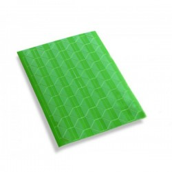Уголки для фотографий самоклеящиеся, зеленые/прозрачные, 102шт., 1л.