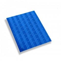 Уголки для фотографий самоклеящиеся, синие/прозрачные, 102шт., 1л.