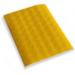 Уголки для фотографий самоклеящиеся, желтые/прозрачные, 102шт., 1л.