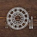 Чипборд Часы 2шт