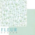 """Лист бумаги для скрапбукинга """"Поляна"""", коллекция """"Зарисовки весны"""", 30х30, плотность 190 гр FD1003605"""