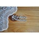 """Чипборд """"Ленточка с выписки-3"""", набор из 6 элементов, 4,9х2,3 см"""