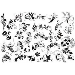 Оверлей «Летние цветы» А4