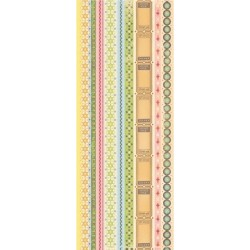 """Наклейки """"Cut 'N Paste Borders"""", 11.5*30.5 см."""
