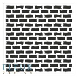 Трафарет Стена, 15,5х15,5 см, толщина 0,5мм, FD4020005