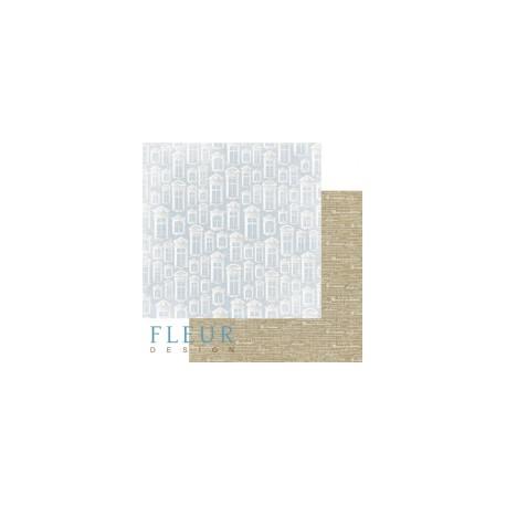 """Лист бумаги для скрапбукинга """"Ридотто"""", коллекция """"Джентиль"""", 30х30, плотность 190 гр"""