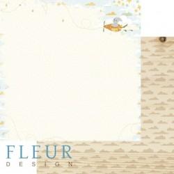 """Лист бумаги для скрапбукинга """"Полёт"""", коллекция """"В облаках"""", 30х30, плотность 190 гр, FD1004108"""
